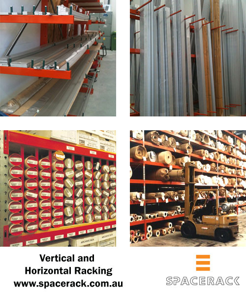 Pipe and Tube Storage, Horizontal and Vertical Racks, Brisbane, Australia