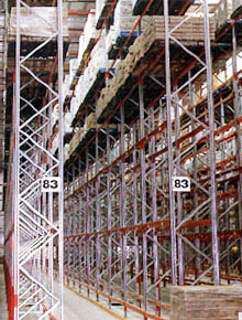 High Rise Selective Pallet Racking