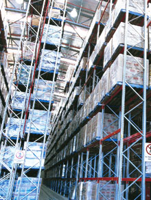 Very Narrow Aisle Pallet Racking