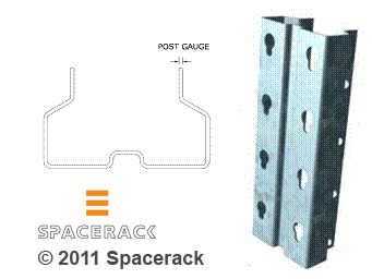 Spacerack BFS Heavy Duty Posts