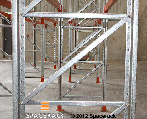 Z Brace for Heavy Duty Pallet Racking