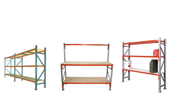 Longspan, Racking and Workbenches for Retail, Commerical and Home